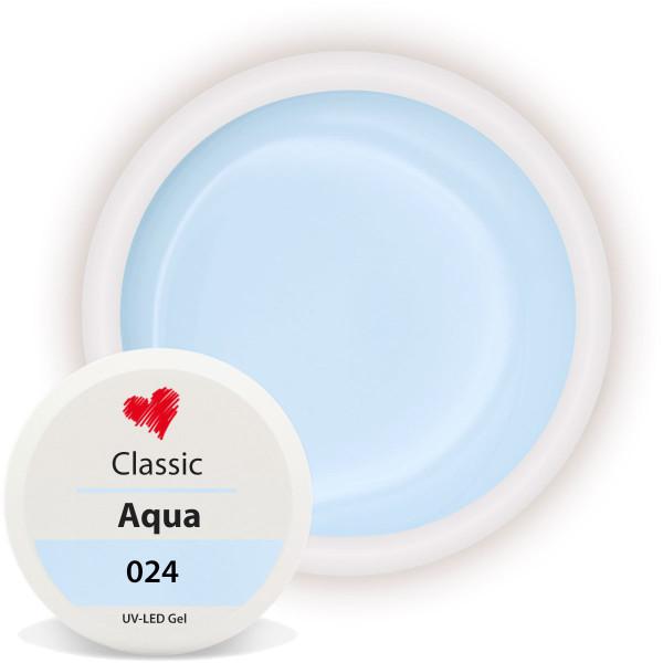 Classic Farbgel 024 Aqua 5ml