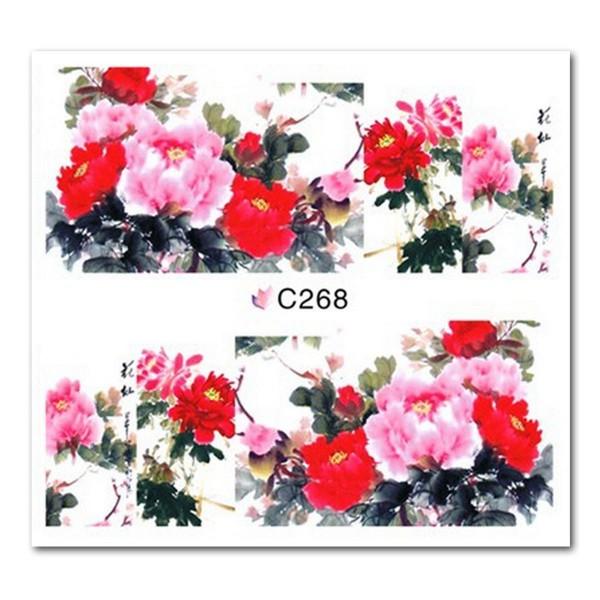 Nailart Tattoo Blume Nr. 18