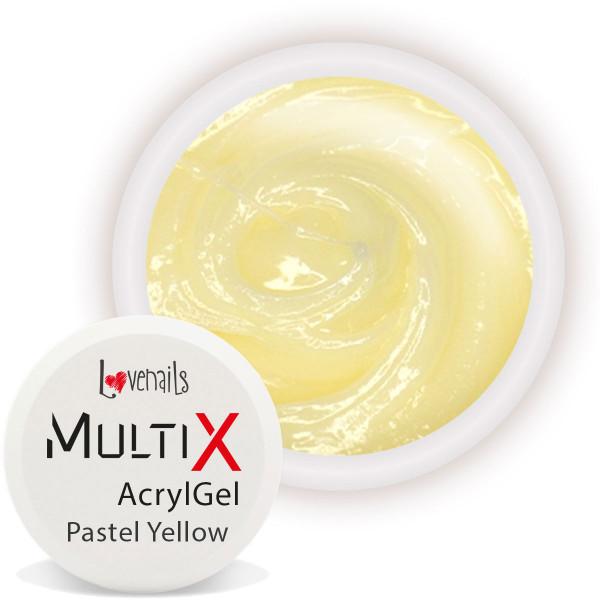 Multi-X AcrylGel Pastel Yellow 5ml