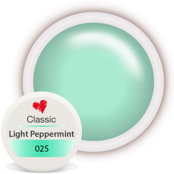 Classic Farbgel 025 Light Peppermint 5ml