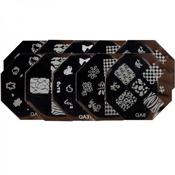 Stamping Schablone QA Set