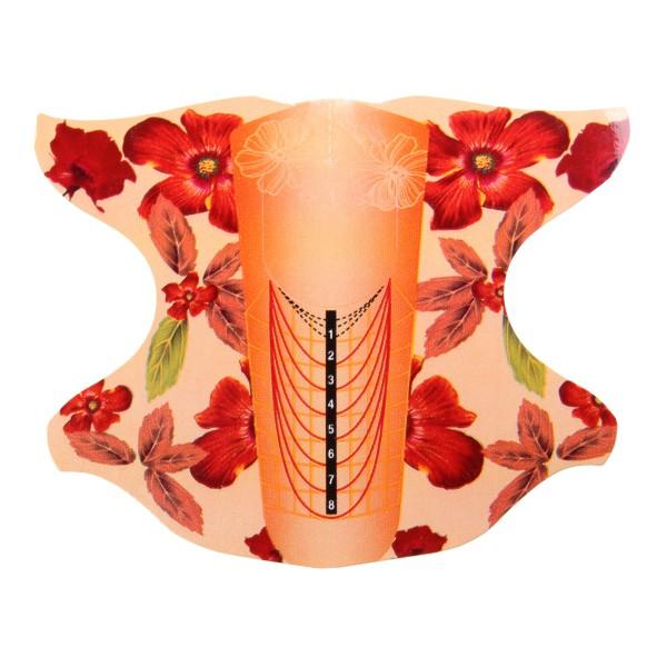 Modellierschablonen Blume