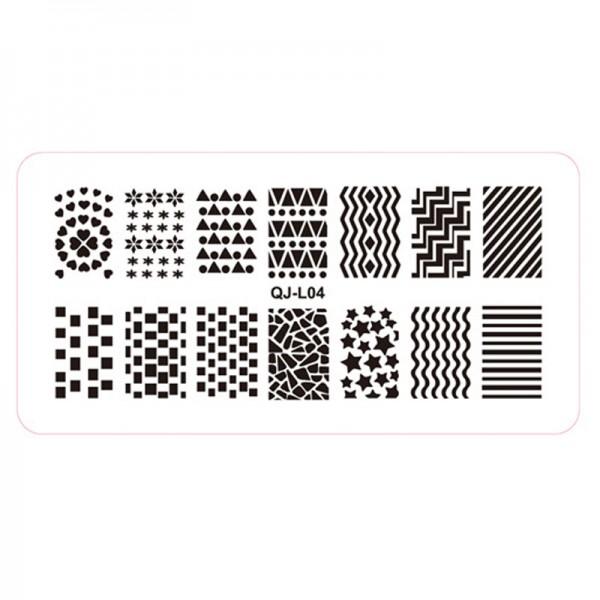Stamping Schablone QJ-L04