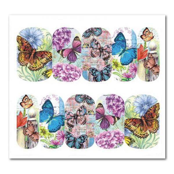 Nailart Tattoo Schmetterling Nr. 10