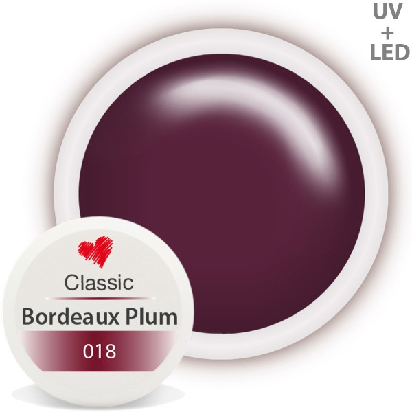 Classic Farbgel 018 Bordeaux Plum 5ml