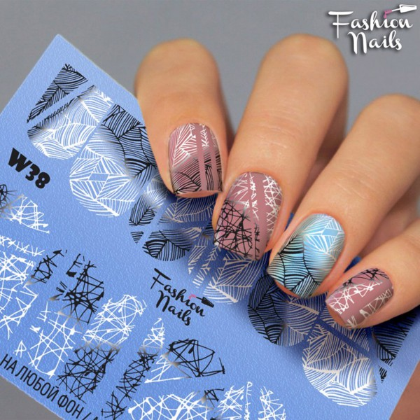 Fashion Nails Slider Trend Linien