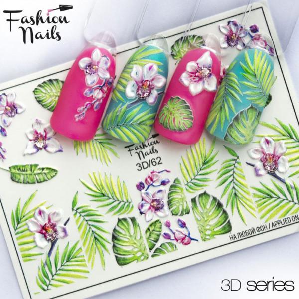 Sommer 3D Nail Slider 62 Fashion Nails