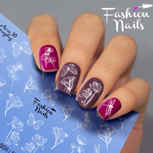Airbrush Nail Slider 10