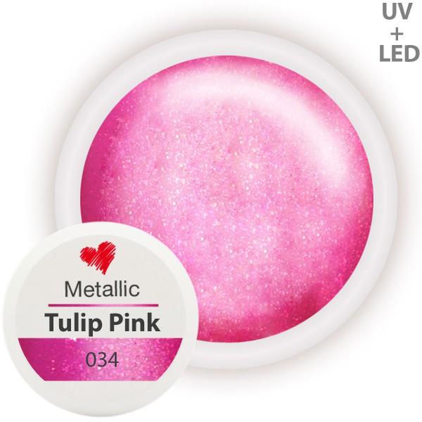 034-Metallic-Farbgel-Tulip-Pink