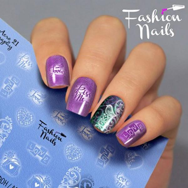 Airbrush Nail Slider 21