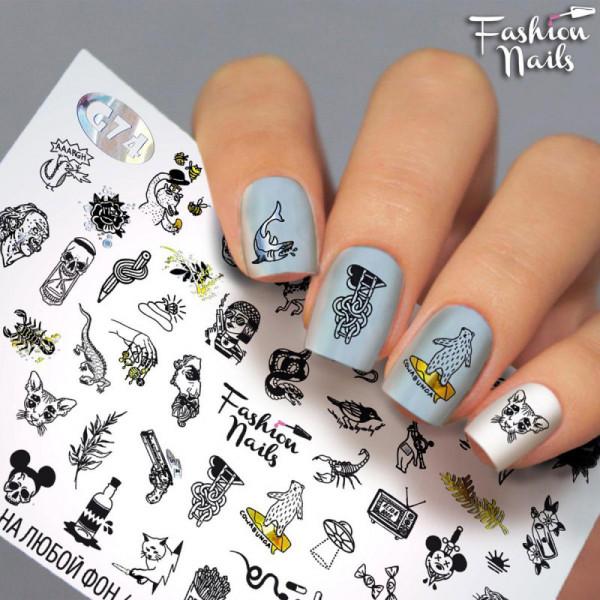Galaxy Nail Slider von Fashion Nails