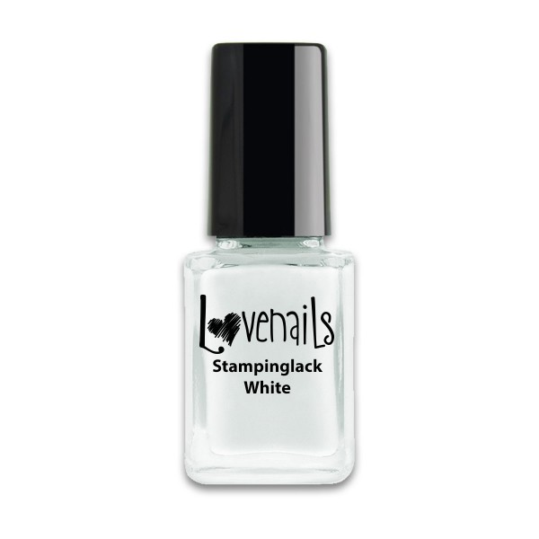 Lovenails Stamping Lack White 12ml
