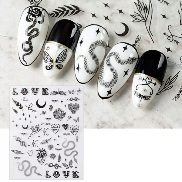 Love Nail Sticker naildesign liebe