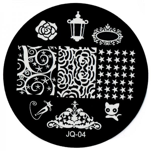 Stamping Schablone JQ-04
