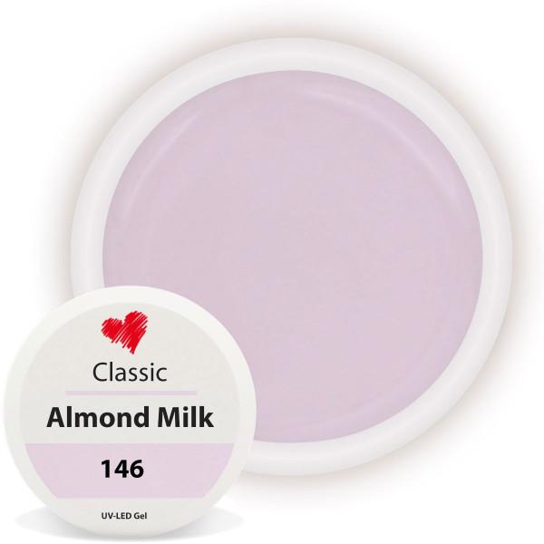 Almond Milk UV Farbgel Classic Nude