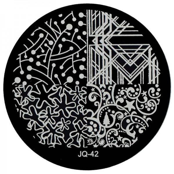 Stamping Schablone JQ-42